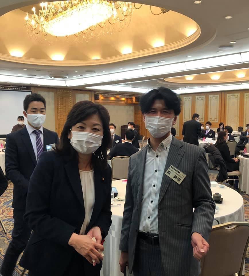 森代表と野田聖子さん